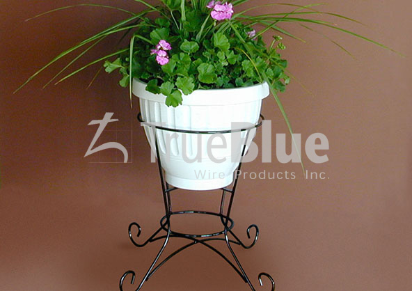 potted plant stand